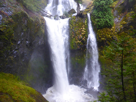 Falls Creek Falls is among the largest in southern Washington