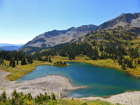 Copper Lake (11,321')