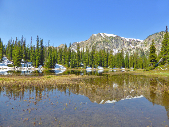 Wantanga Lake in the Indian Peaks Wilderness